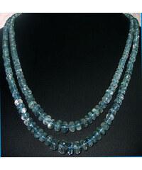 KLENOTA Akvamarínový náhrdelník