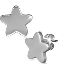 DAMSON Ocelové náušnice - hvězdy
