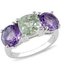 KLENOTA Ametystový prsten