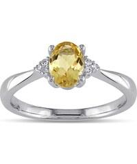 KLENOTA Citrínový prsten