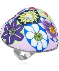 DAMSON Dámský prsten - flowers