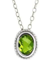 KLENOTA Peridotový náhrdelník