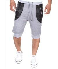 EU Sportovní 3/4 kalhoty šedé