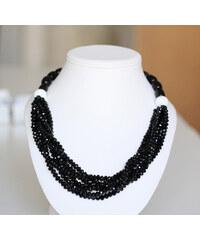 KLENOTA Onyxový náhrdelník