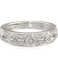 KLENOTA Diamantový prsten ze stříbra