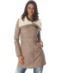Voyelles Podzimní koženková bunda - II. jakost