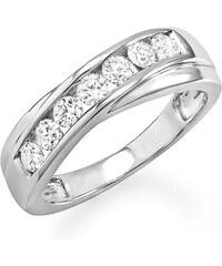 KLENOTA Zlatý pánský výroční prsten