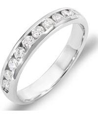 KLENOTA Pánský výroční prsten s diamanty