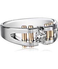 KLENOTA Pánský prsten s diamanty
