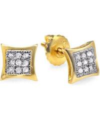 KLENOTA Diamantové náušnice pro muže