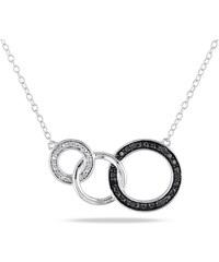 KLENOTA Kruhový diamantový náhrdelník
