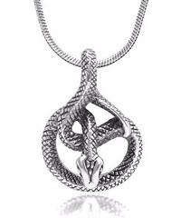 KLENOTA Pánský přívěsek ve tvaru hada
