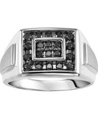 KLENOTA Diamantový prsten pro muže