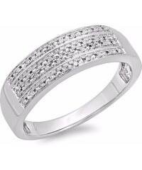 KLENOTA Briliantový pánský prsten