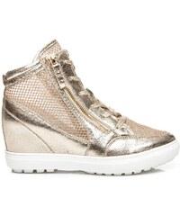 BETLER Sneakery se síťovinou zlaté