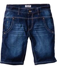 John Baner JEANSWEAR Bermuda en jean Loose Fit Straight noir homme - bonprix