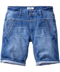 John Baner JEANSWEAR Bermuda en jean Loose Fit Straight bleu homme - bonprix