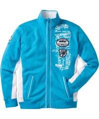 bpc selection Gilet sweatshirt bleu manches longues homme - bonprix