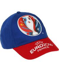 UEFA EURO 2016 Cap blau in Größe 54 für Jungen aus 100% Baumwolle