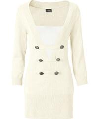 BODYFLIRT boutique Pullover in weiß für Damen von bonprix