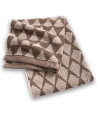 Esprit Oboustranný ručník s žakárovým vzorem