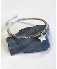 BeChick Be Chic! jewelry: Stříbrný náramek Be star!