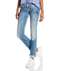 Herrlicher Damen Straight Leg Jeanshose Pitch Denim Stretch