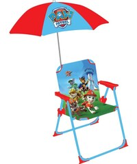 Jemini Paw patrol - Chaise et parasol - multicolore