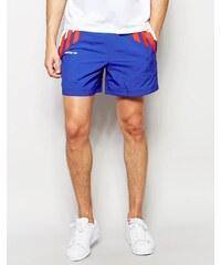 Adidas Originals - AJ7336 - Short rétro tricolore - Bleu