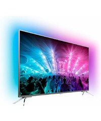 PHILIPS PREMIUM Philips 55PUS7101/12, LED Fernseher, 139 cm (55 Zoll), 2160p (4K Ultra HD) Ambilight, Smart-TV