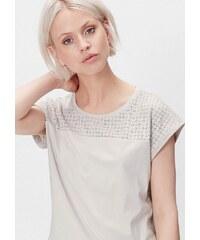 s.Oliver RED LABEL Leder-Look-Shirt