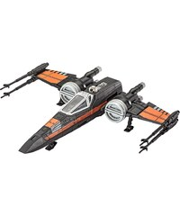 Revell® Modellbausatz Starfighter mit Sound, 1:78, »Disney Star Wars Poes Xwing Fighter?«