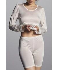 CHANGE Lingerie CB10908168-IVORY: CHANGE Silk knit - Short pants