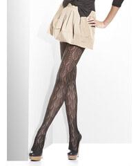 Bas Bleu BAS-BRENDA-BLACK: Dámské punčochové kalhoty BAS BLEU Brenda