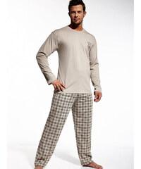 Cornette COR-REDWOOD-BEIGE: Pánské pyžamo Cornette