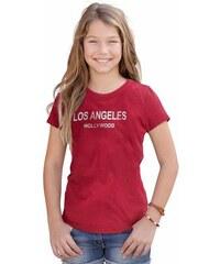 Arizona T-Shirt mit Frontdruck für Mädchen rot 128/134,140/146,152/158,164/170,176/182