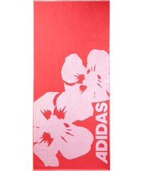 Strandtuch mit Blumenmotiv adidas Performance rot 1xStrandtuch 70x160 cm