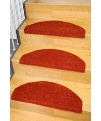 LIVING LINE Stufenmatte Living Line Kunstrasen Premium In- und Outdoorgeeignet getuftet rot 22 (15er Set)
