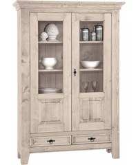 PREMIUM COLLECTION BY HOME AFFAIRE Premium collection by Vitrine 2trg. Burgund Höhe 175 cm natur