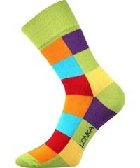 Lonka barevné ponožky Decube zelené