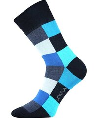 Lonka kostkované ponožky Decube tyrkysové
