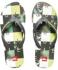Quiksilver Pánské žabky Molokai Checkmate Black/Green/White AQYL100059-XKGW