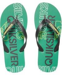 Quiksilver Pánské žabky Molokai Nitro Black/Green/Yellow AQYL100057-XKGY