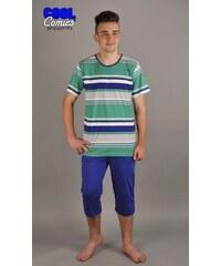 Gazzaz Pánské pyžamo kapri Erik - středně modrá