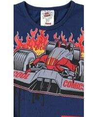 Cool Comics Dětské pyžamo kapri Formule 1 - modrá