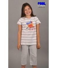 Cool Comics Dětské pyžamo kapri Krab - světle šedá