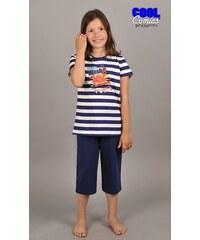 Cool Comics Dětské pyžamo kapri Krab - tmavě modrá