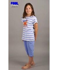 Cool Comics Dětské pyžamo kapri Krab - světle modrá