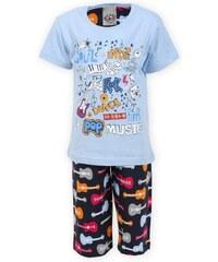 Cool Comics Dětské pyžamo kapri Rock - světle modrá