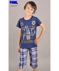Cool Comics Dětské pyžamo kapri Nářadí - tmavě modrá